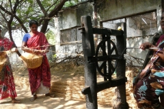Inde : corderie