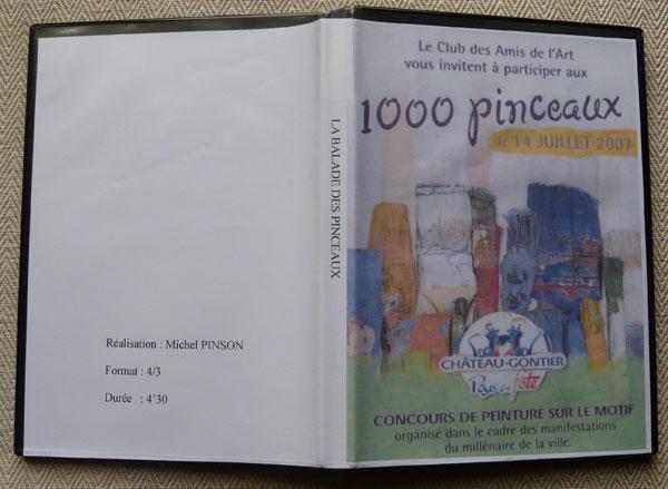 Pochette DVD Balade des pinceaux