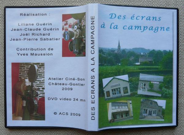 Pochette DVD des écrans à la campagne