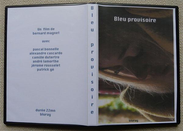Pochette DVD Bleu provisoire