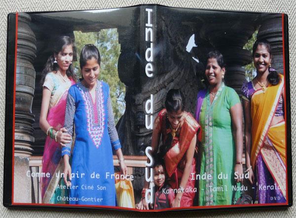 Pochette DVD Inde du sud